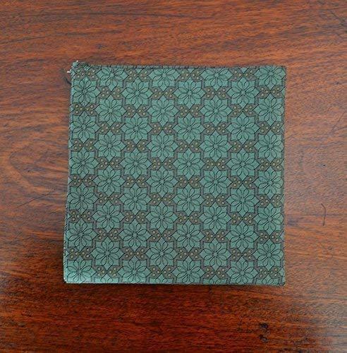 0b0d8f85b09a3 Amazon.com: Cotton Pocket Scarf - Handkerchief - Geometric Moorish Print - Pocket  Square: Handmade