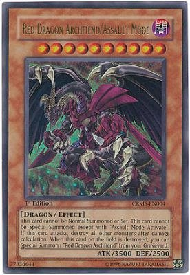 Crimson Dragon (YuGiOh 5D's Crimson Crisis Single Card Red Dragon Archfiend/Assault Mode)