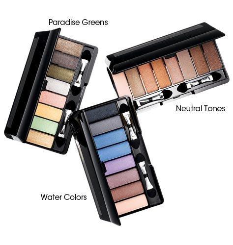 Avon Eye Shadow Set Eight in One Palette Paradise Green 8 in 1 Huit En Une Palette - Compact Eye Paradise