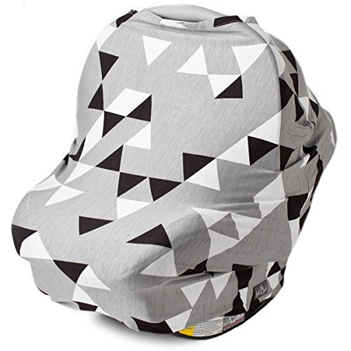 Shopping Stroller Stretchy Breastfeeding Geometric