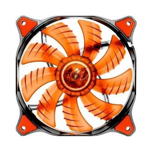 COUGAR 12CM Red LED Hydraulic (Liquid) Bearing Ultra Silent Fan 1200RPM 64.4CFM 16.6dBA # Cougar CFD12HBR by Cougar gaming