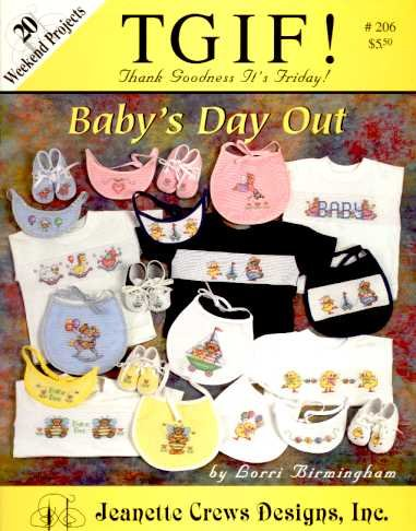 TGIF, Baby's Day Out: 20 Weekend Projects, Cross Stitch
