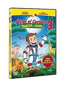 Jorge El Curioso 3: De Vuelta A La Selva [DVD]: Amazon.es ...