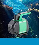 Submersible Water Pump, 586GPH Ultra Quiet Water Pump, Fountain Pump Multi-functional Filter Pump with 2 Nozzles, Power Cord and 9.2ft High Lift for Fish Tank , Pond , Aquarium, Statuary, Hydroponics
