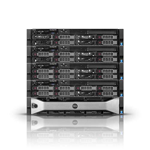 Dell PowerEdge R730 LFF Server 2X E5-2680 v3 24 Cores 256GB RAM H730 24TB Storage (Renewed)