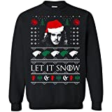 Let It Snow John Snow Game of Thrones Ugly Christmas Sweater Unisex Sweatshirt