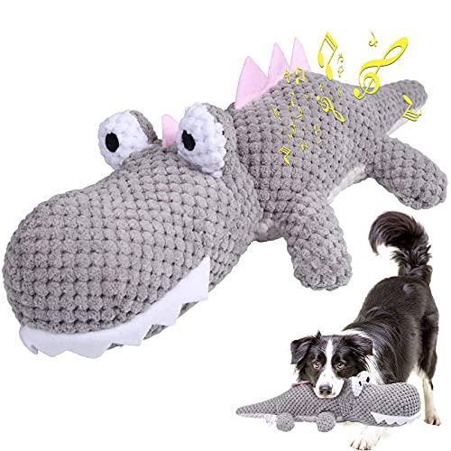 G.C Welpenspielzeug quietschend Hundespielzeug Kleine Hunde, Kauspielzeug Hund Plüschspielzeug interaktives Zahnpflege…
