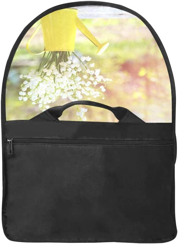 Briefcase for Laptop Watering Flowers in Garden Centre Multi-Functional Womens Satchel Handbags Fit for 15 Inch Computer Notebook MacBook