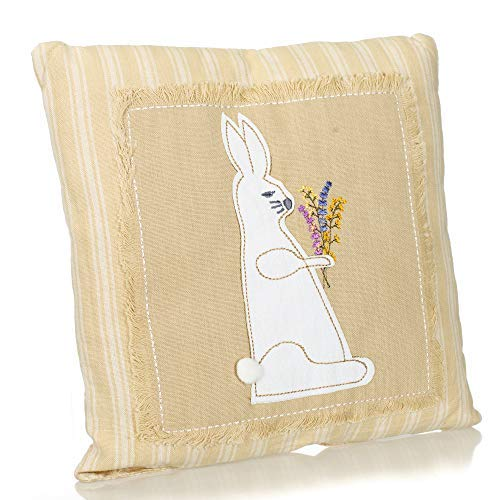 Park Designs Easter Bunny Throw Pillow [並行輸入品] B07RCDDFM9
