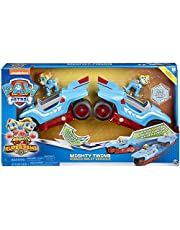 Spin Master Paw Patrol Mighty Pups Super Paws Mighty Twins 2-in-1 Power Split voertuig