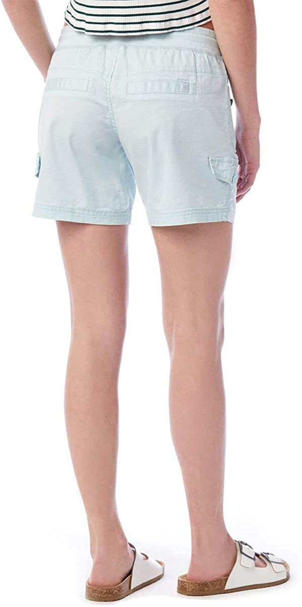 UNIONBAY Womens Christy Stretch Knit Waist Convertible Short