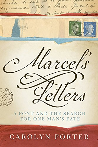 Marcel's Letters: A Font and the Search for One Man's Fate cover