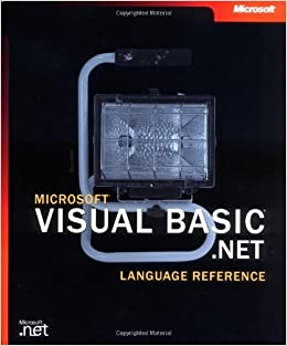 Book Microsoft® Visual Basic® .NET Language Reference (Developer Reference) by Microsoft Corporation (2002-03-13)