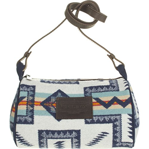Pendleton Dopp Purse with Leather Strap - Women's Pueblo Cross, One Size