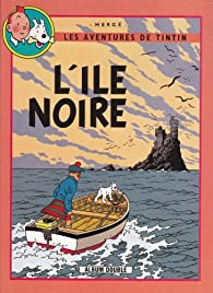 Les aventures de Tintin - Double album 03 : L'ile noire / L'étoile mystérieuse par  Hergé