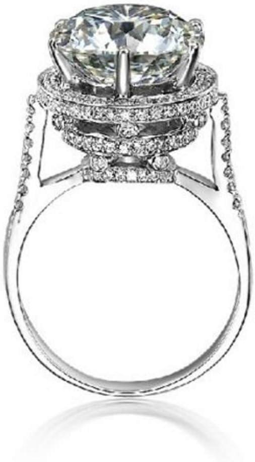 Rose Gold,Size 5 Naomi Rose Gold Fire Opal /& Heart-Cut Cubic Zirconia Ring