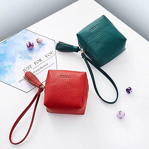 Capacité Wallet Main Portefeuilles Cute Yqxr À Green Pinces Handmade Et Sac Simple Shantou monnaie Porte Grande Mini Pwx6q8w7