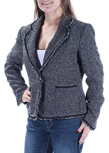 - Anne Klein Women's Boucle Tweed Jacket, Juniper Combo, 10