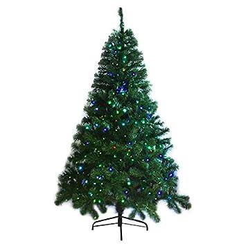 Weihnachtsbaum kunstlich glasfaser beleuchtet