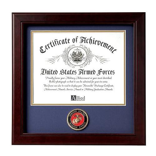Military Certificate Frame: Amazon.com