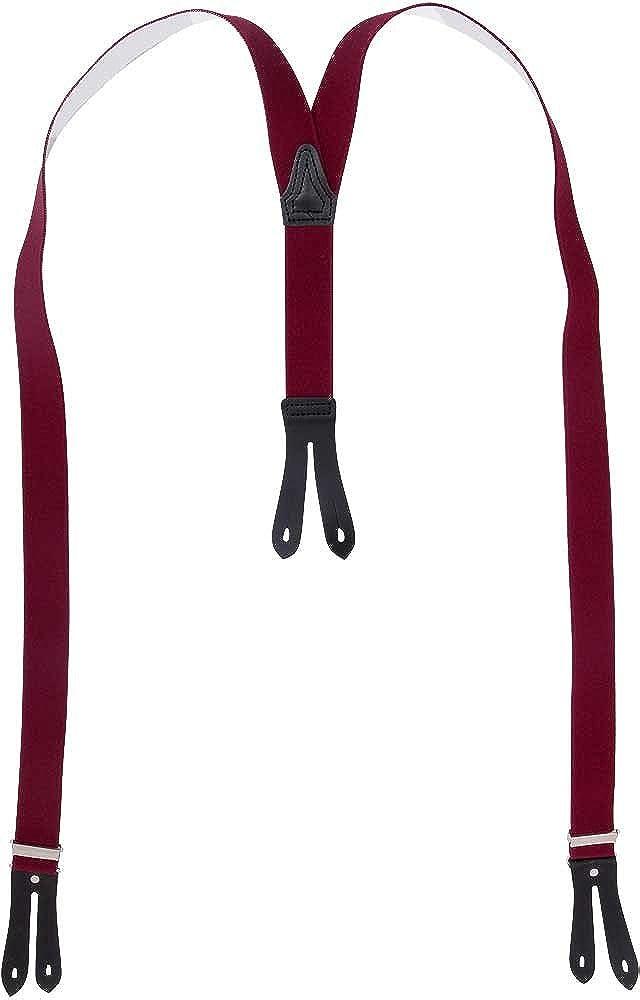 Harrys-Collection Hosenträger mit Knopfloch in Überlänge Farben:beige
