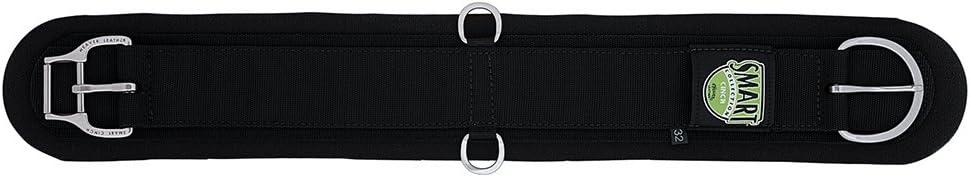 Weaver Leather Neoprene Smart Cinch with Roll Snug Cinch Buckle