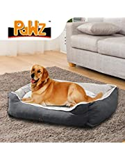 PaWz Pet Bed Dog Beds Mattress Bedding Cover Calming Cushion Grey XL 90x72x29cm 90x72x29cm