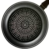 TeChef - Blooming Flower Frying Pan, with Teflon Platinum Non-Stick Coating (PFOA Free) / Ceramic Coated Outside / Induction Ready