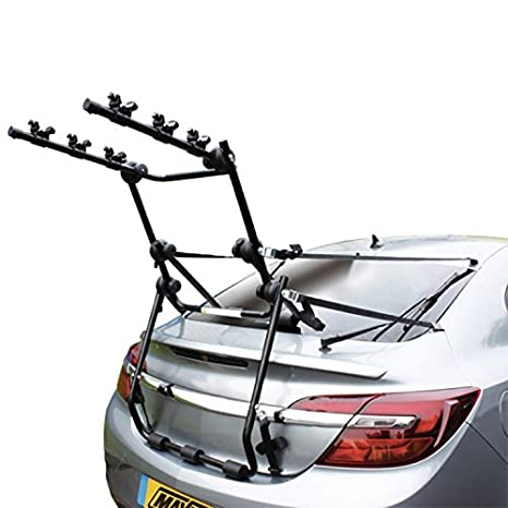 Mont Blanc 3 Bicycle Bike Car Cycle Carrier Rack Fits Saloon Hatchback Estate