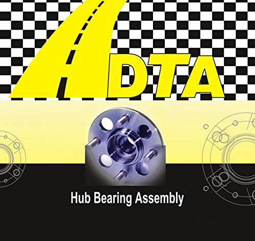 1 DTA Rear Wheel Bearing Hub Assembly Fits 2014-2017 Subaru Forester; 2013-2016 Impreza None WRX Model Rear Wheel Left or Right Crosstrek ; 2013-2017 XV Crosstrek