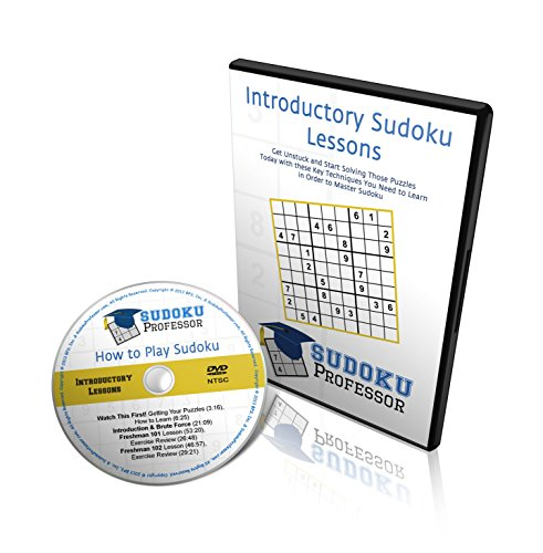 Sudoku Professor - How to Play Sudoku - Introductory Lessons