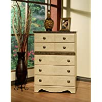 Sandberg Furniture Casa Blanca 5-Drawer Chest