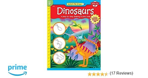 Watch Me Draw: Dinosaurs: Jenna Winterberg, Diana Fisher ...