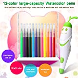 electronic crafts - Shinehalo Electronic Sprayer Painting Crafts Kit Packed with 26 Pieces 12-Colored Pens, Intelligence Creation Art Set Magic Marker Kids Drawing Painting Toys