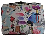 LeSportsac Classic Extra Large Rectangular Cosmetic Case (Art School)
