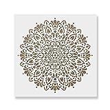 Harmony Mandala Stencil Template - Reusable Stencil