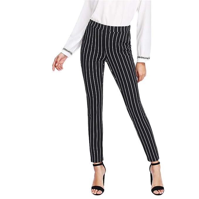 bebc80dfdd Pantalones Leggings para Mujer Otoño Invierno 2018 Moda PAOLIAN Casual  Pantalones Uniformes de Trabajo Skinny Cintura Alta Fiesta Pantalones de  Pinza Vestir ...