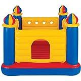 لعبة قفز جامب-او-لين بنمط قلعة قابلة للنفخ من انتيكس مع مضخة يدوية - 48259