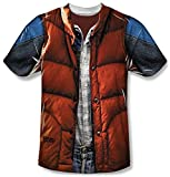 Back to the Future - Mcfly Vest T-Shirt Size XXXL