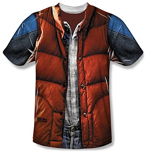 Back to the Future Marty Mcfly Costume Shirt
