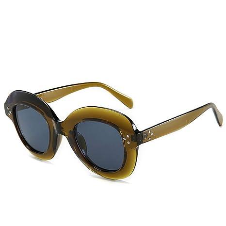 Yangjing-hl Tendencia señora Gafas de Sol de uñas de arroz ...