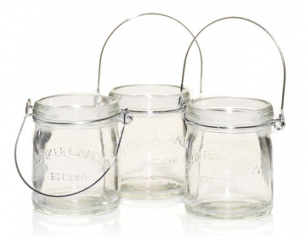 Yankee Candle Mini Canning Jar (Set Of 3) Tea Light Candle Holder