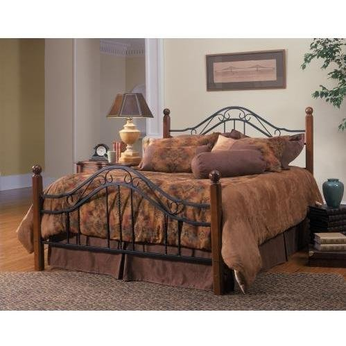 Full Size Set Footboard (Hillsdale Furniture 1010BF Madison Bed Set, Full, Textured Black)
