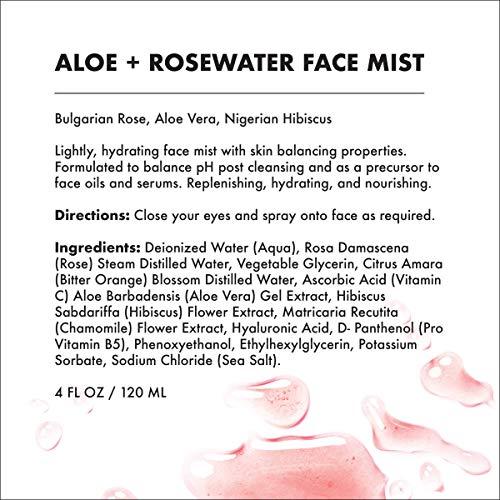 Provence Beauty Aloe Rosewater Balancing Refreshing