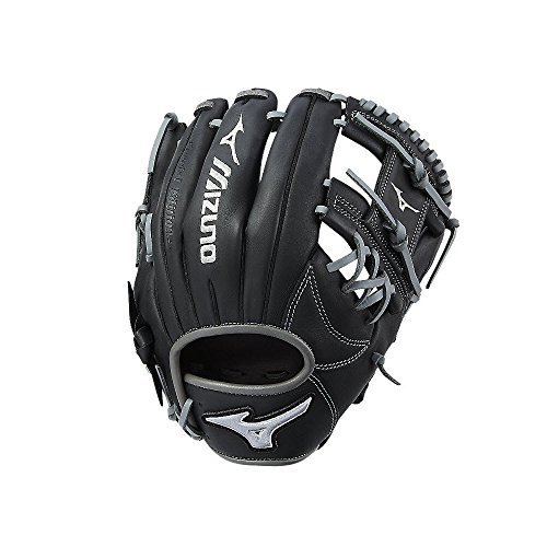 Mizuno MVP Prime SE GMVP1154PSE6 Infield Model Gloves, Black/Smoke