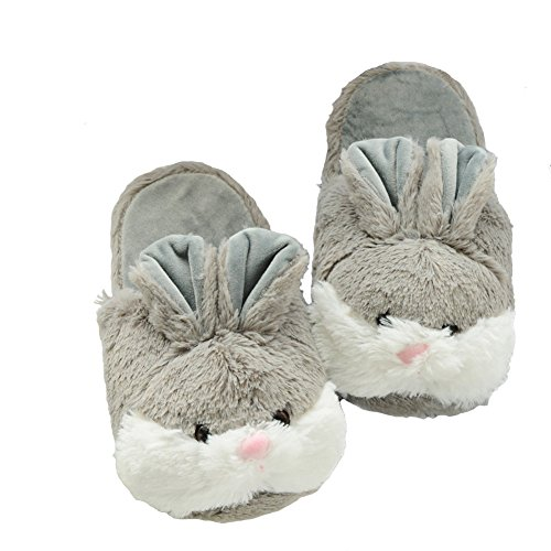 Women's Winter Warm Plush Animal Cherioll Non-slip Home Slippers