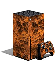 MightySkins Skin Compatible with Xbox Series X Bundle - Burning Up   Protective, Durable, and Unique Vinyl Decal wrap Cover   Easy to Apply, Remove, and Change Styles   Made in The USA