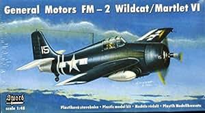 Sword 1:48 General Motors FM-2 Wildcat/Martlet VI Plastic Model Kit #48005