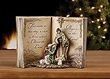 Holy Family Bible Nativity Scene Resin Stoneware Christmas Decoration Figurine