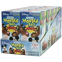 Frankford Candy Company Disney Wonder Ball Mini, Milk Chocolate, 1.41 Ounce (Pack of 10)